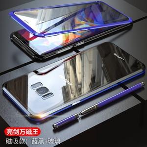 Image 3 - สำหรับ Samsung Galaxy S10 5G S10 Plus S10e Case 360 องศาฝาครอบแม่เหล็กด้านหน้าด้านหลังสำหรับ galaxy S9 Plus แม่เหล็กกรณี