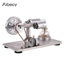 5ebec6e30f2 Modelo de Ar quente Do Motor Stirling Motor Gerador De Energia Elétrica com  LED Física Educacional Brinquedos para As Crianças D..