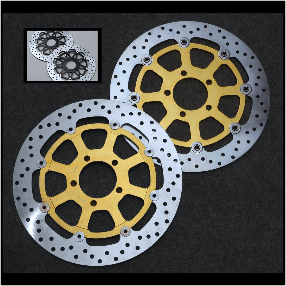 Floating Front Brake Disc Rotor Fit For Suzuki TL1000R TL1000S Hayabusa GSX1300R 1999-2007 GSX1400 Motorcycle