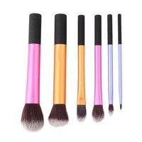 New 6pcs Powder Cosmetic Makeup Brush Set Blush Brushes Foundation Tool Wholesale Quality