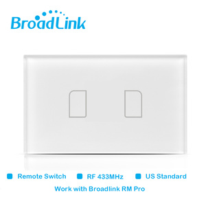 Image 4 - Original Broadlink TC2 US Standard RF Touch Panel Switch 123 Gang RM PRO Smart Home Universal Wireless WiFi RF Remote Control