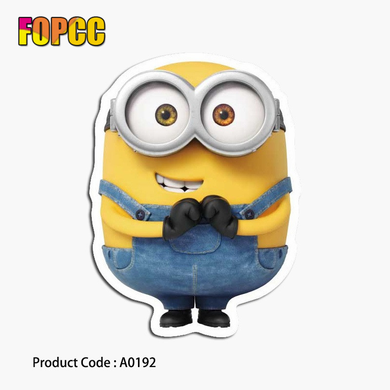 Despicable Me Minions Kids Stickers For DIY Graffiti Cartoon Guitar Luggage Skateboard Bicycle Waterproof PVC Laptop Stickers