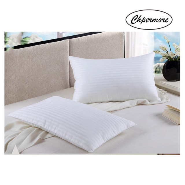 Chpermore Five Star Hotel high quality 100% Mulberry Silk Pillow Orthopedic Neck Pillows 48*74cm Sleeping Health Memory Pillow