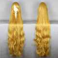 MCOSER Cheap Halloween Gosick Victorique De Blois High Quality 150cm Extend Long Blonde Wavy Cosplay Wig