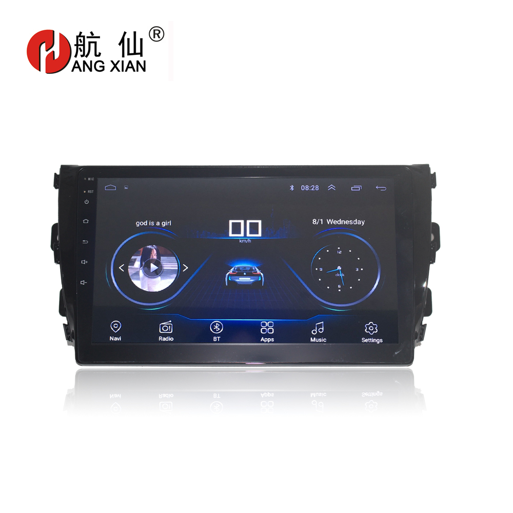HANG XIAN 9 Quadcore Android 8 1 Car radio for ZOTYE T600 2014 2016 car dvd