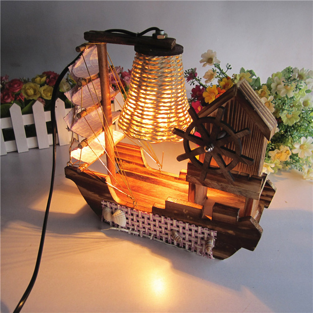 Online buy wholesale surfing ac from china surfing ac wholesalers surfing boat music designer table lamp for bed room living room lamparas de mesitas de dormitorio geotapseo Image collections