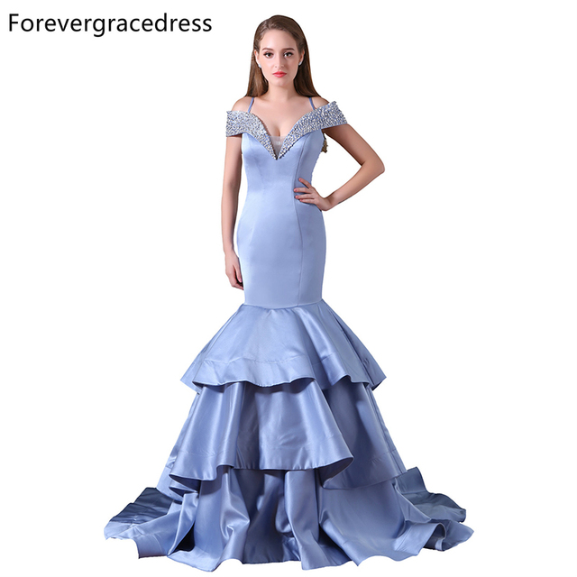 Forevergracedress New Arrival Mermaid Prom Dress Spaghetti Straps ...
