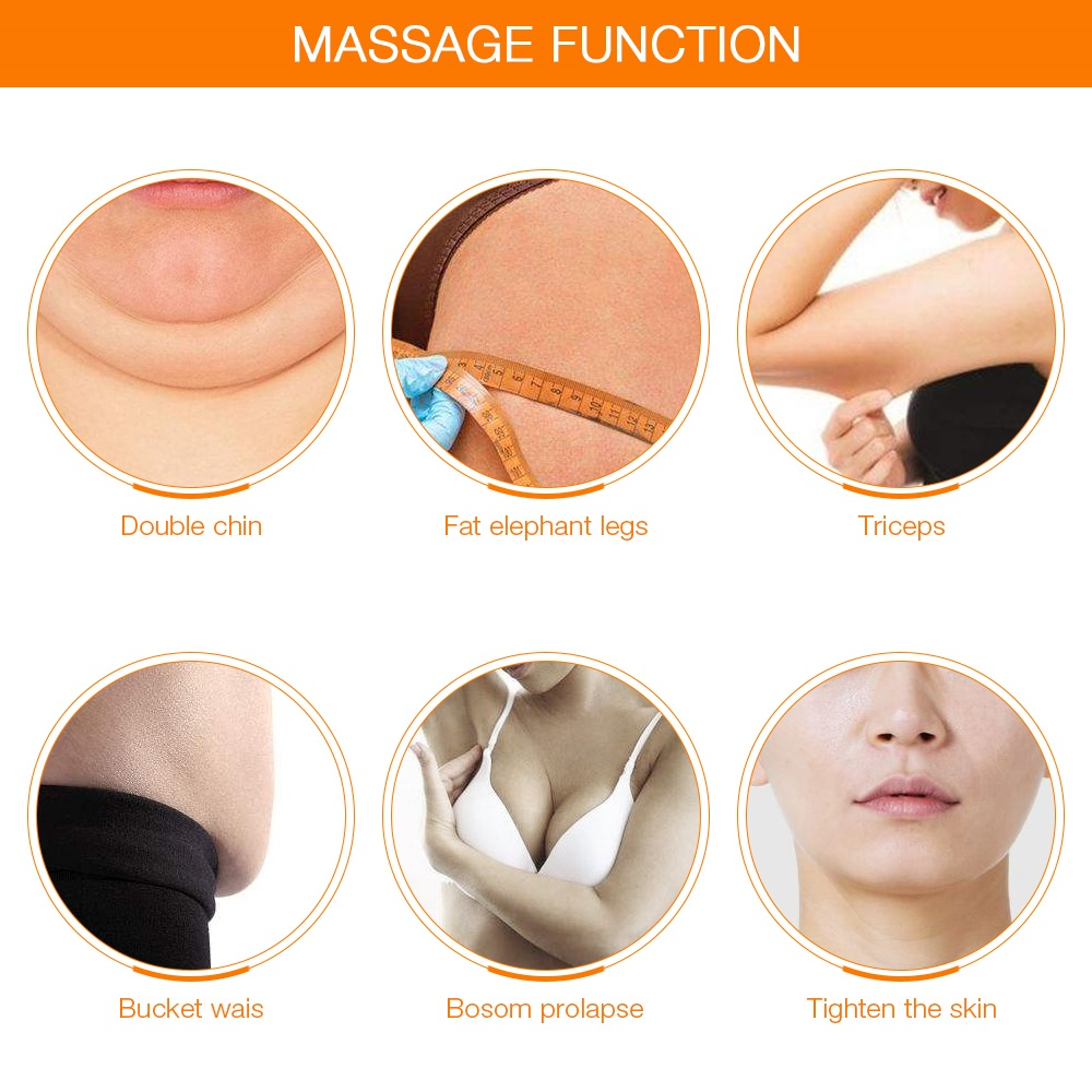 7 in1 Ultrasound Body EMS Slimming Photon LED Therapy Facial Massager