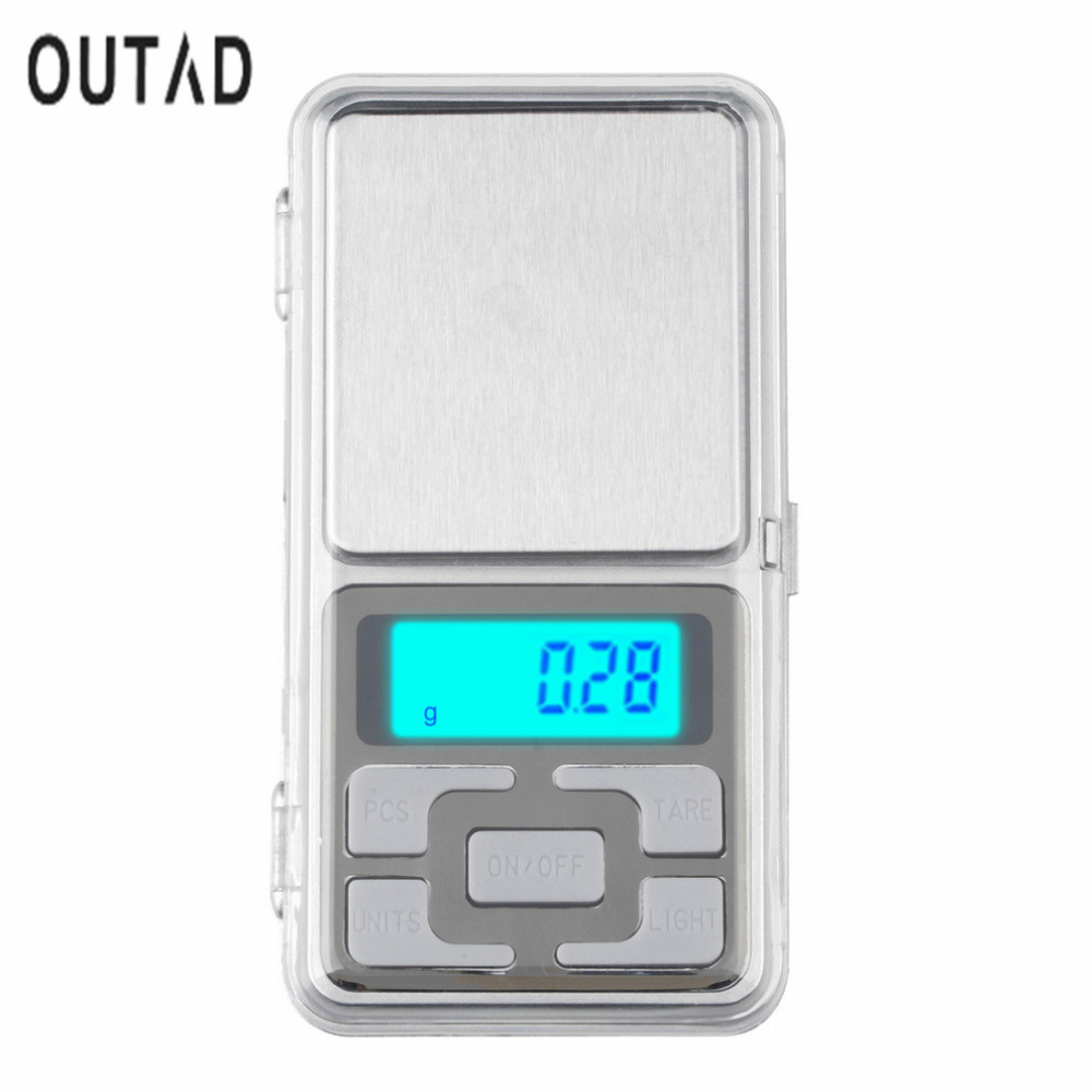 200gx0.01g Mini <font><b>Digital</b></font> <font><b>Scale</b></font> Portable LCD Electronic Jewelry <font><b>Scales</b></font> <font><b>Weight</b></font> Weighting Diamond Pocket <font><b>Scales</b></font> image