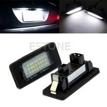 2 x Error Free 24-LED Plate Light For BMW E90 M3 E92 E70 E39 F30 E60 E93-Y107
