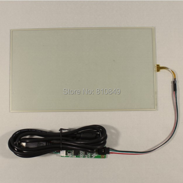 все цены на 10.1inch 4-wire Resistive touch screen+Controller card for 10.1inch N101BCG-L21 онлайн