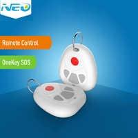 NEO COOLCAM Z-welle Plus Smart Start Ein Schlüssel SOS und Fernbedienung Sensor Smart Home Automation Sensor SOS notfall Anrufe