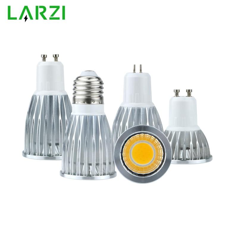 E27 MR16 GU5.3 GU10 Lampada LED Bulb 3W 5W 7W 10W 110V 220V Bombillas LED Lamp 85-265V COB Spotlight Lampara Spot Light