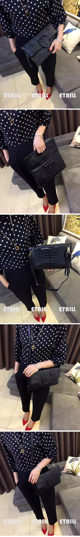 Crocodile Women Clutch Bags