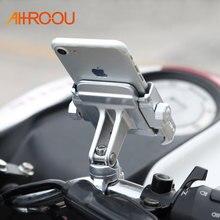 Universale Lega di Alluminio Del Motociclo Supporto Del Telefono Per iPhoneX 8 7 6 s Supporto Telefono Moto Supporto Per Il GPS Del Manubrio Della Bici supporto