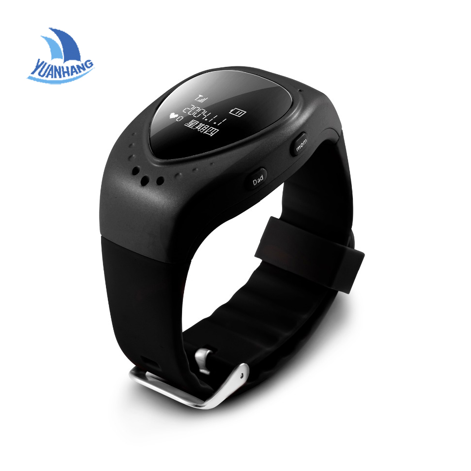 2017 New Arrival GPS AGPS Tracker Watch for Kids Children Life Waterproof Smart Watch with SOS