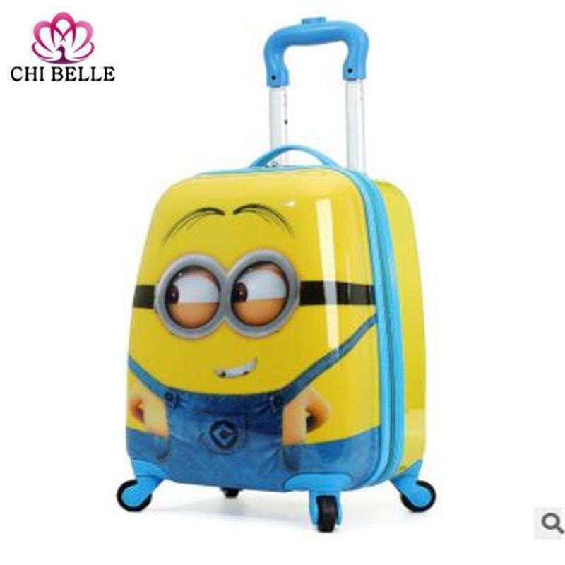 Djeca potezna kutija PVC Spinner 16-inčni 20-inčni dječji kofer za - Torbe za prtljagu i putovanje - Foto 5