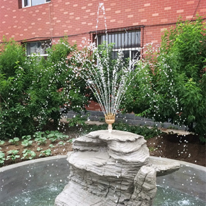 """Image 5 - High Quality 1.0"""" DN25 1.5"""" DN40 3 Layers Flower Typed Fountain Nozzles Spray Head Pond"""