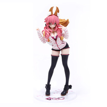 25cm Fate/EXTRA CCC Caster Tamamonomae Action Figure PVC Collection Model toys brinquedos for christmas gift EO00 цены