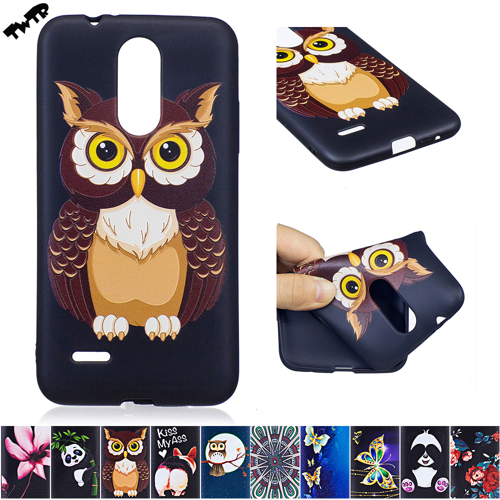 the best attitude 91764 cfdfa US $3.12 8% OFF|3D Soft Silicone Case for LG K7 2017 X230 X 230 Case Phone  Fitted Case for LG K 7 LGK7 2017 LGX230 LG x230 TPU Frame Core Cover-in ...