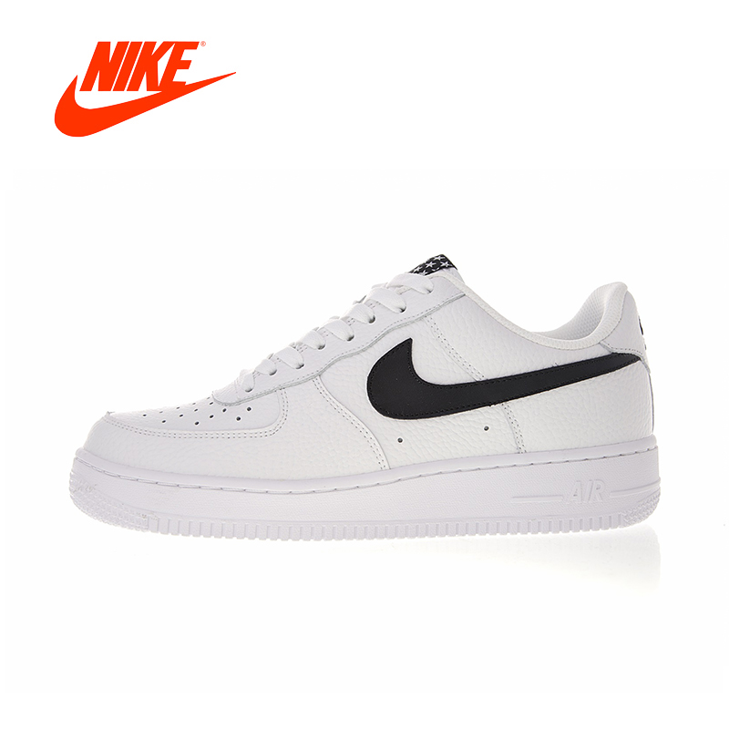 Original New Arrival Authentic Nike Air Force 1 AF1 Low Men's Skateboarding Shoes Sport Outdoor Sneakers Good Quality AA4083-103