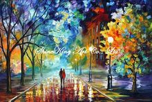 palette knife oil painting  modern oil painting canvas oil painting K391