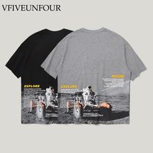 VFIVEUNFOUR Hipster Hip Hop Japanese Tshirts Streetwear Men 2019 Summer Harajuku Casual Short Sleeve Tops Tees Funny Print Tee