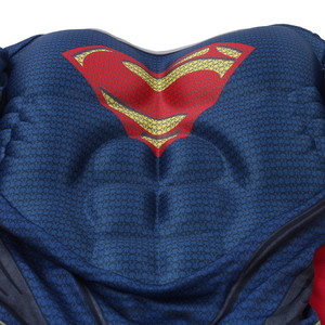 Image 4 - High Quality Children Superman Cosplay Clothing Halloween Costume For Kids