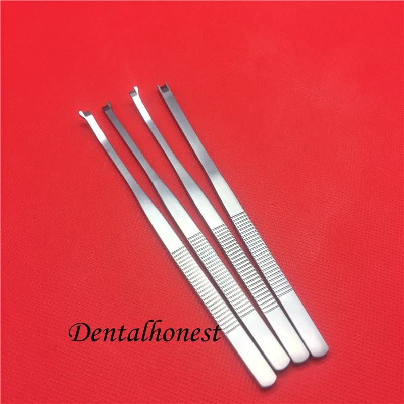 Nouveau en acier inoxydable spade-type poignée ronde os nasal nez os ciseau visage en plastique chirurgie double paupière outils
