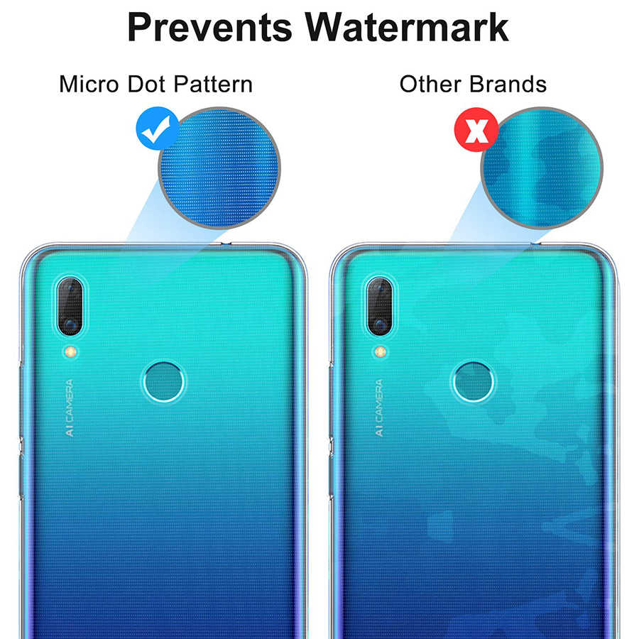 UVR Case Luxury Transparent Silicone TPU Soft Cover for Huawei P Smart Plus  2019 Phone Case Back Cover for P Smart 2019