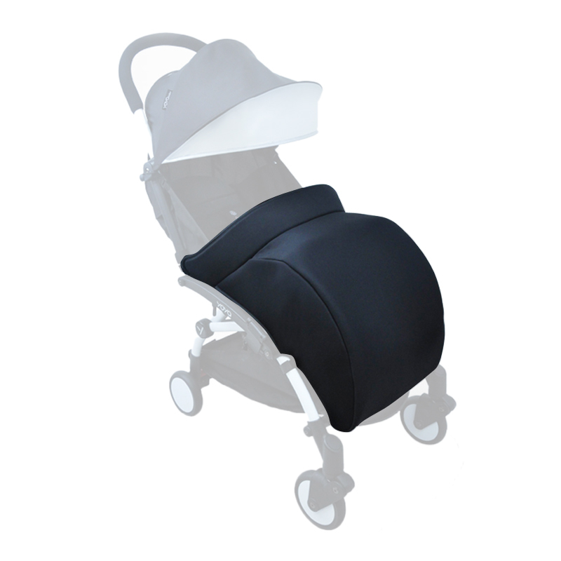 Baby stroller Foot Cover Stroller Accessories Carriages Socks Cotton Pad Warm And Windproof Hood
