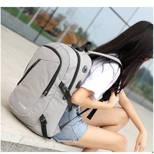 VASSARETTE USB Charging Laptop Anti Theft Backpack Men Women Zipper Large Capacity Multifunctional Travel Fashion