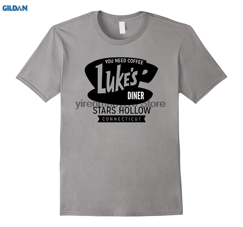 LUKE/'S Kids Boys T-Shirt Gilmore Luke Danes Girls Diner Cafe Symbol Sign Logo