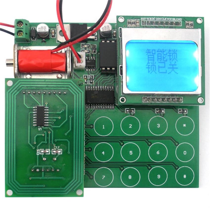 diy Intelligent lock kit high version contest suite electronic production suite