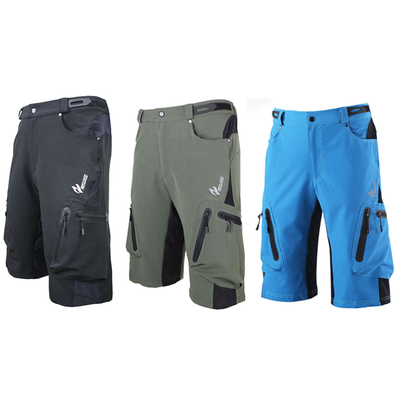 Arsuxeo Cycling Shorts MTB Road Bike Bicycle pocket clothes Quick-dry Mens Outdoor Sports drop ship 2015 arsuxeo mtb 1202