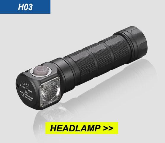 Image 4 - NEW Skilhunt H03 H03F H03R Led Headlamp Lampe Frontale Cree XML1200Lm HeadLamp Hunting Fishing Camping Headlight+Headband-in LED Flashlights from Lights & Lighting