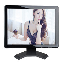 15 Inch Touch Monitor 1024 768 Touch Monitor Hdmi Bnc 4 3 Screen Ratio Portable Touch