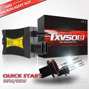 Image 2 - H7 Xenon Bulb H1 H3 H4 Xenon Headlight Ballast kit HID Light Lamp H11 55W Headlamps for Motorcycle 35W 9005 9006 9004 9007 H27