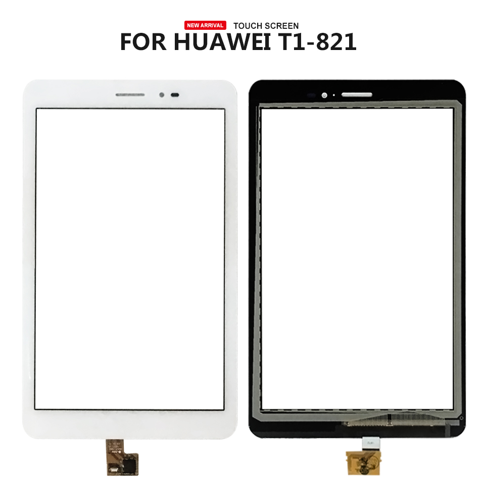 For Huawei MediaPad T1 8.0 Pro 4G T1-823 T1-823L T1-821 T1-821L T1-821 Touch Screen Digitizer Sensor Replacement Parts srjtek 8 for huawei mediapad t1 8 0 pro 4g t1 821l t1 821w t1 823l t1 821 n080icp g01 lcd display touch screen panel assembly