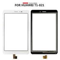 Per Huawei MediaPad T1 8.0 Pro 4G T1-823 T1-823L T1-821 T1-821L T1-821 Touch Screen Digitizer Sensor Parti di Ricambio