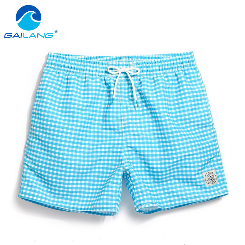 Gailang Brand Men Beach Board Shorts Boardshorts Men's Short Bottoms Summer Swimwear Swimsuits Quick Drying Shorts Casual New