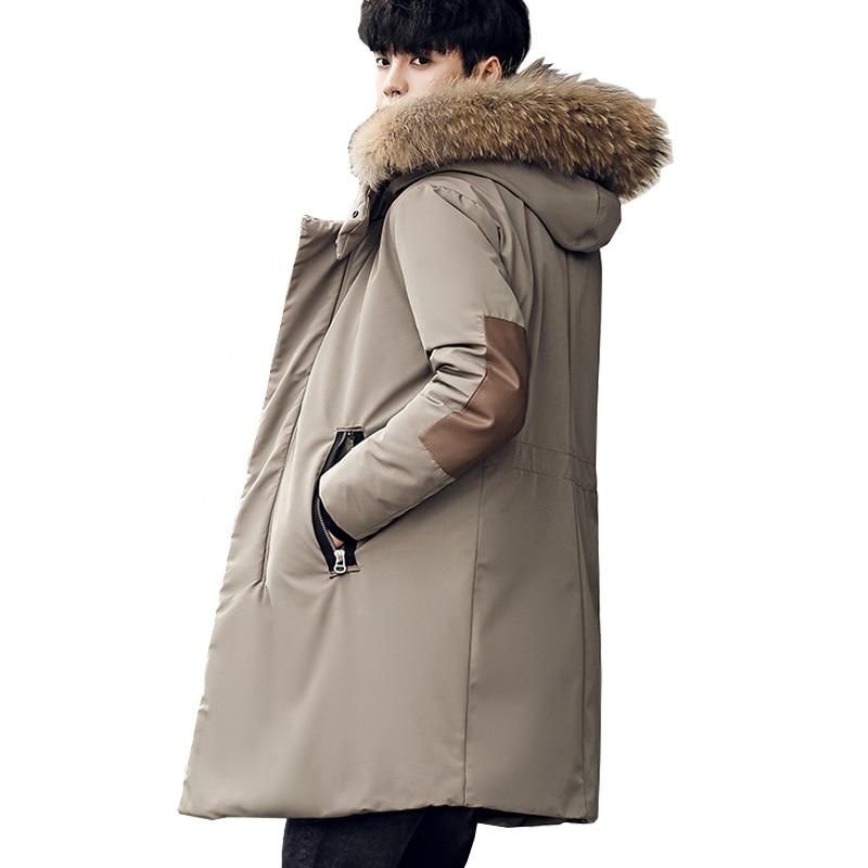 90%Duck   Down   Jackets   Coats   Men's Thick Warm Winter For 30 Soft   Coats   Male   Down   Jacket Outwear Duck   Coat   Jackets Men Parkas 0921B