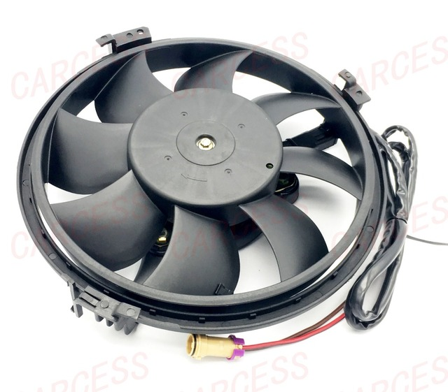 Cooling Fan motor Assembly assy RADIATOR Electric Motor fan assy For VW Volkswagen Passat 1.8 Audi OE 8D0959455Q 2 PINS