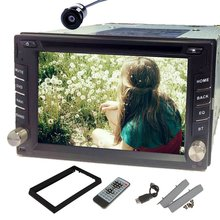Rear Camera GPS Navigation 2 DIN Android 4.2 Car Stereo Video DVD Player BT+TV+Ipod+Wifi+RDS+In-Dash Car Audio Radio Head Unit