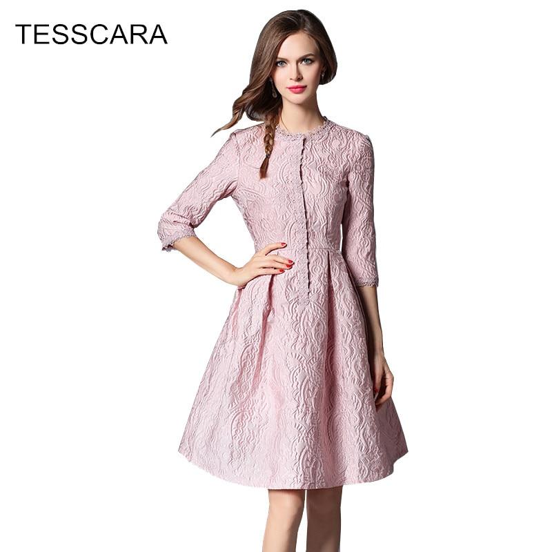 women spring summer dress female office elegant work wear retro robe femme vestidos casual. Black Bedroom Furniture Sets. Home Design Ideas