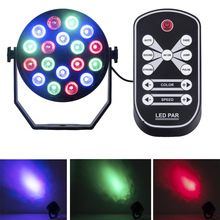LED Remtoe Controller Holiday light 18W Sound Activated Laser Projector RGB Stage Lighting effect Lamp Light Music Christmas