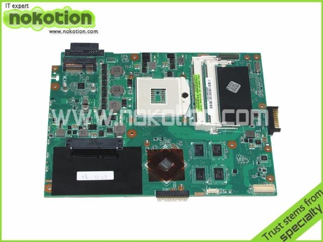 Para ASUS K52JC placa base 60-NZIMB1200-A03 69N0IHM12A03 madre del ordenador portátil HM55 GT310M DDR3 madre envío gratis