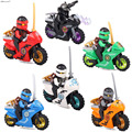 Yamala New educational Ninjagoed Motorcycles Lloyd/Zane/Garmadon Model Figure Toy kids Building Bricks block toys gifts