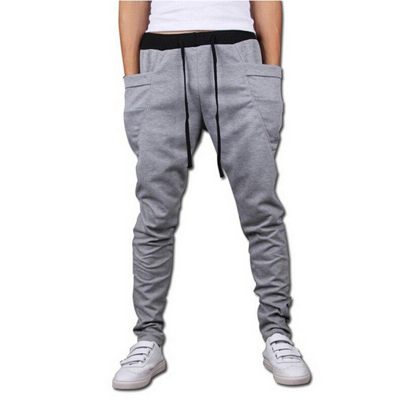 Baggy Tapered Bandana Pants Hip Hop Dance Harem Sweatpants Drop Crotch Pants Men Parkour Sport Track Jogger Trousers