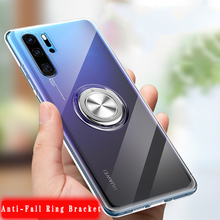 Get more info on the Luxury Transparent Glitter Ring Holder Plastic Case For Huawei P30 P20 Pro Lite Nova 3e 4 Mate 20 20X Pro Lite Honor V20 Cover